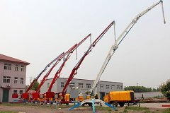 Mobile Hydraulic Concrete Placing Boom